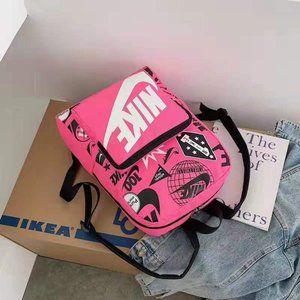 nike full pink backpack